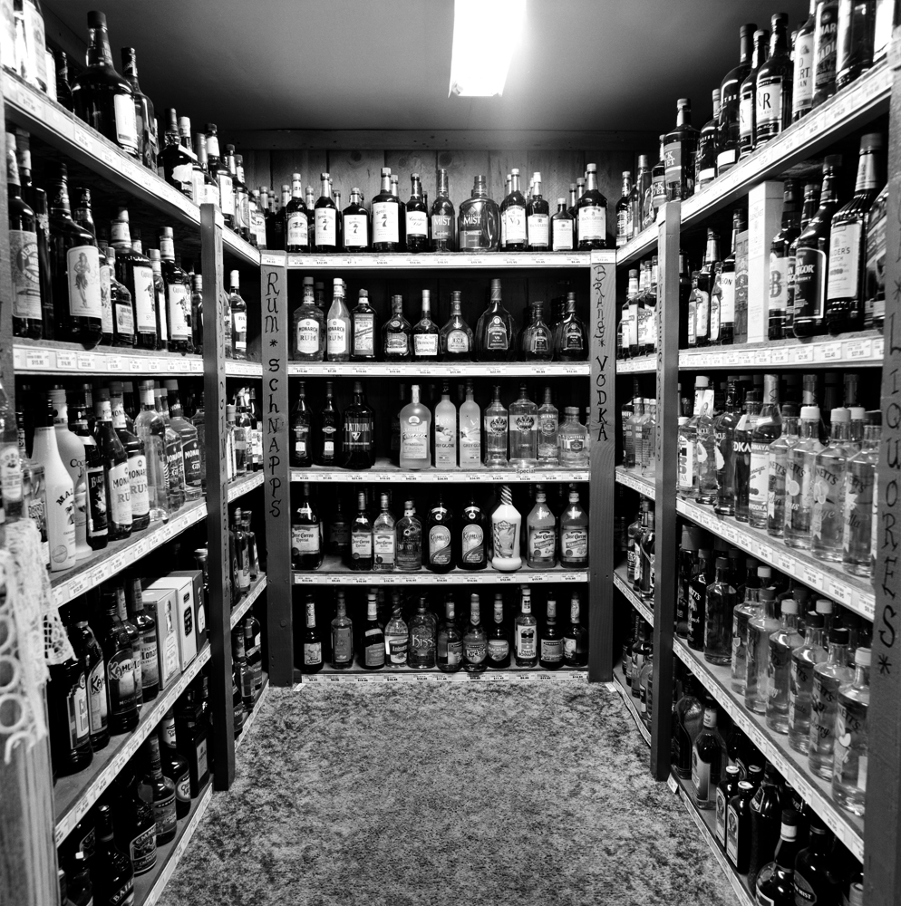 Oregon, 2010, Liquor Store