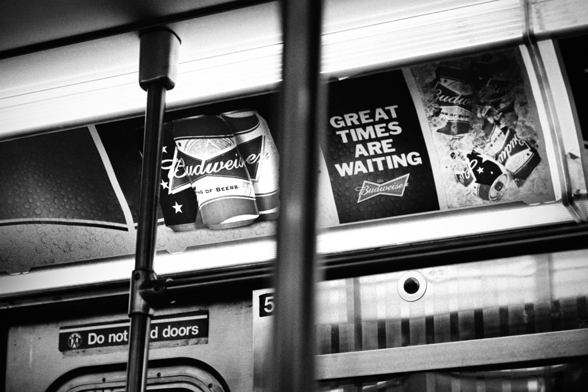 New York, NY, Subway, 2013, American projections