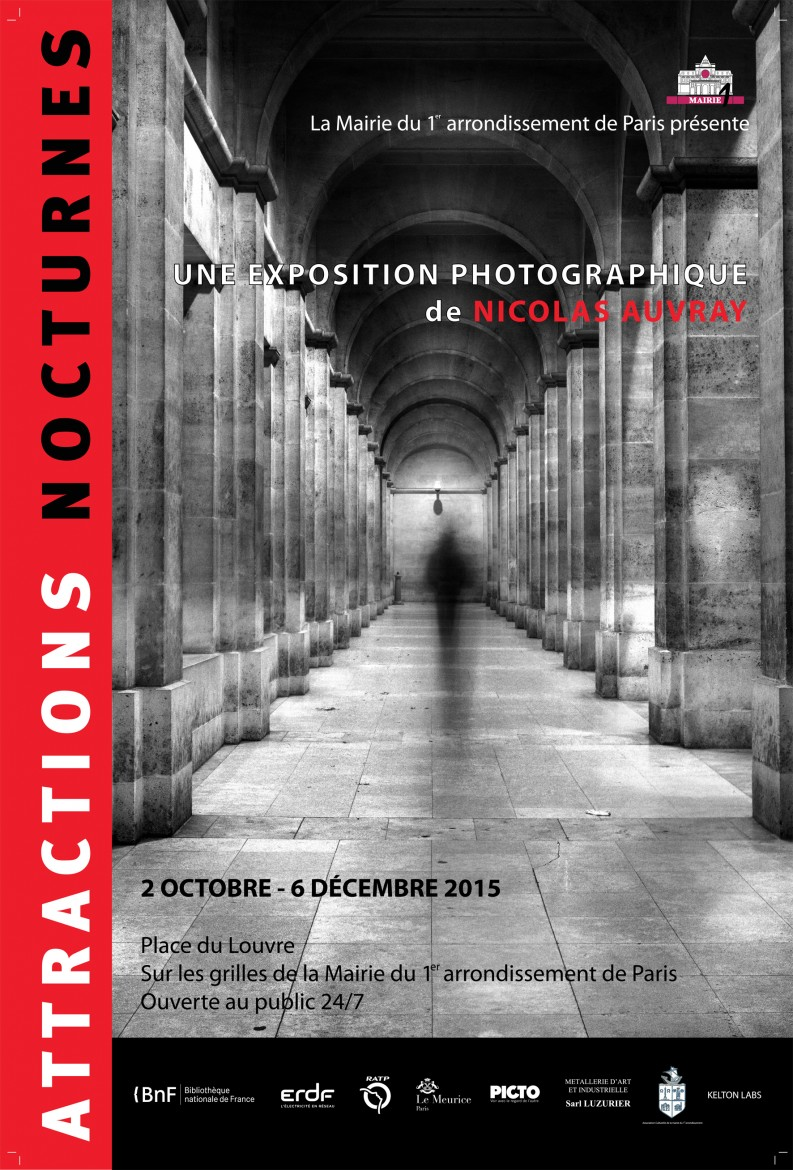 Attractions Nocturnes - Exhibition in Paris, September - December 2015